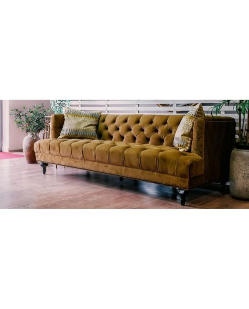 """Sofa """"Mustard Velvet"""""""