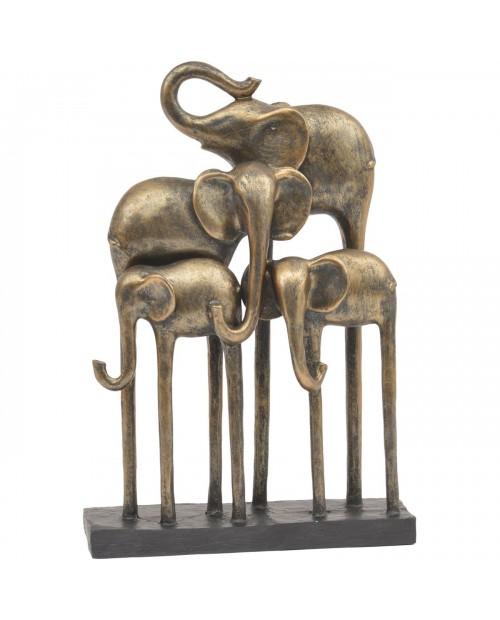 "Dekoracija ""Bronze Elephants"""