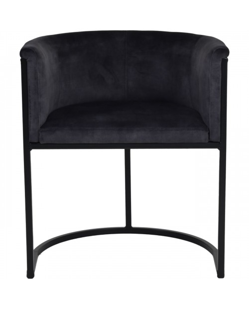 "Kėdė ""Coal Velvet"""