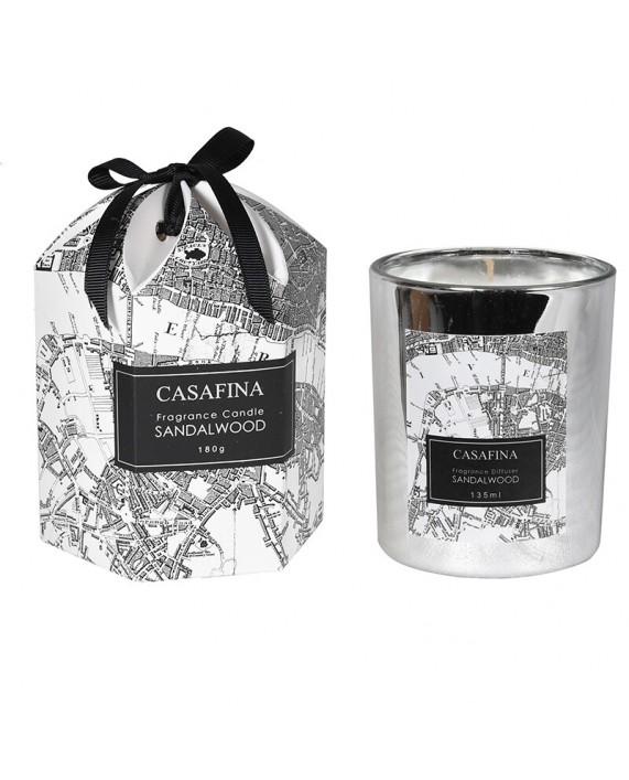 "CASAFINA ""SANDALWOOD"" aromatinė žvakė"