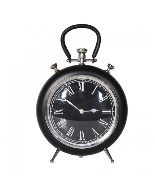 Juodas metalinis laikrodis