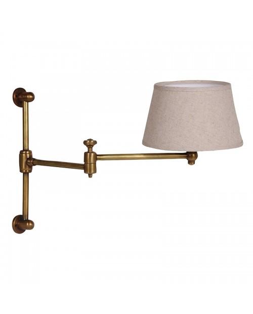 """Sieninis (reguliuojamas) šviestuvas """"Bronze Swing"""""""
