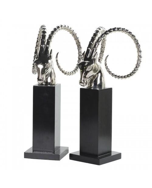 """Knygų laikikliai """"ART DECO Antelope """" (2 vnt)"""