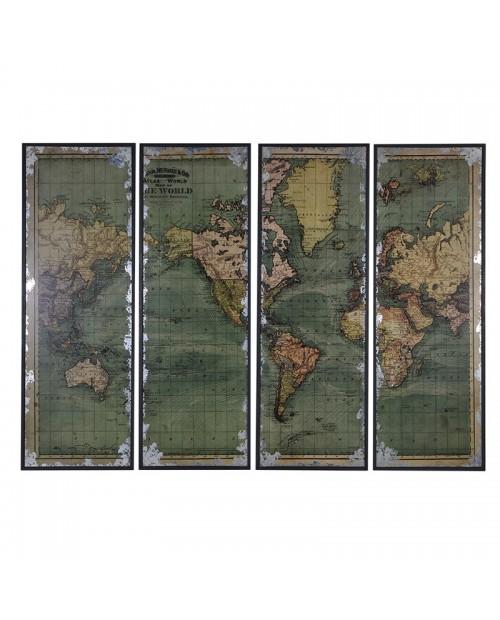 """Pasaulio žemėlapis """"World Map"""""""