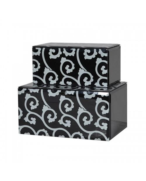 """Dėžučių komplektas """"Black/White"""""""