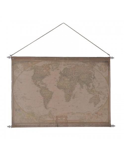 Pasaulio žemėlapis (mažas)