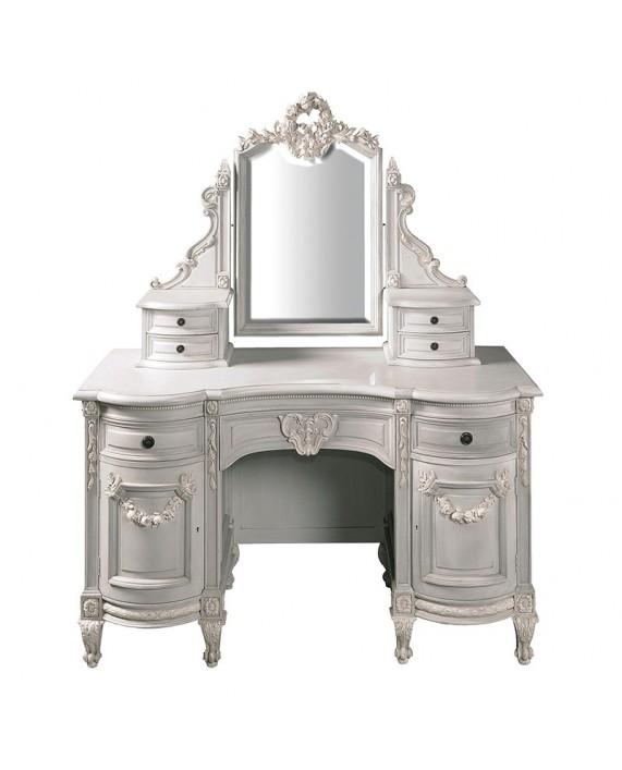 """Kosmetinis stalas su veidrodžiu """"Fontainebleau"""""""