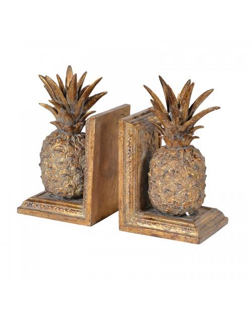 "Knygų laikikliai ""Golden Pineapple"" (2 vnt)"