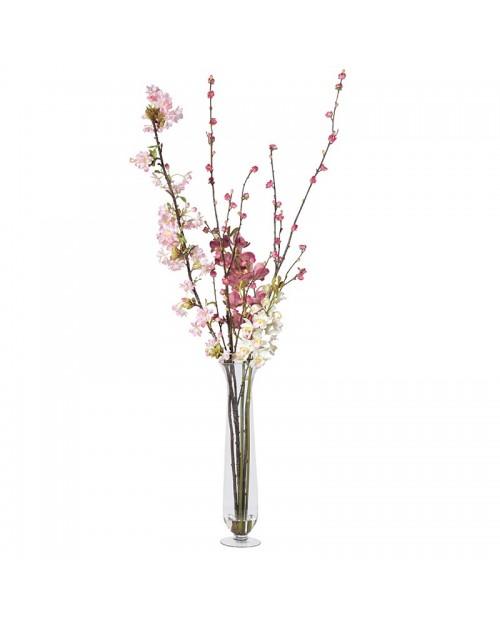 """Dirbtinės gėlės vazoje """"ORCHID & BLOSSOM"""""""