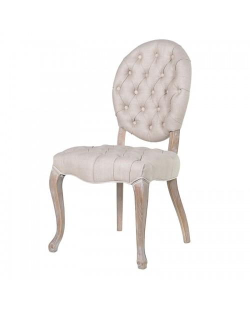 """Valgomojo kėdė """"Linen Button"""""""