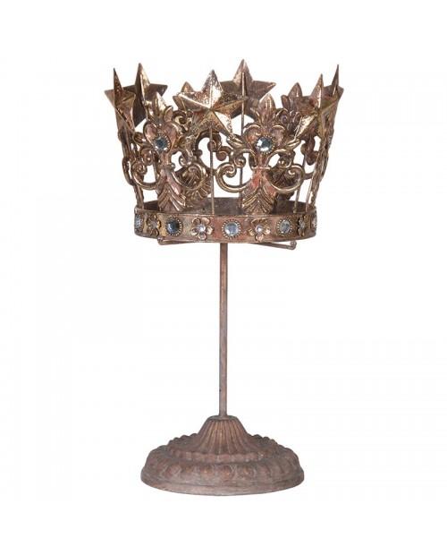 """Aukšta žvakidė """"Crown"""""""
