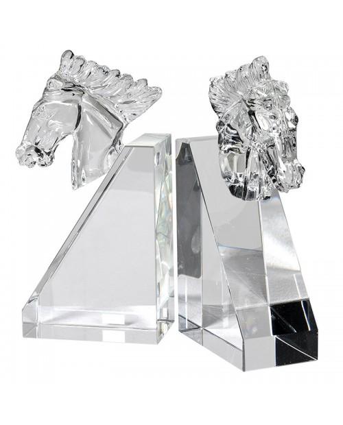 "Knygų laikikliai ""Crystal Horse"" (2 vnt)"