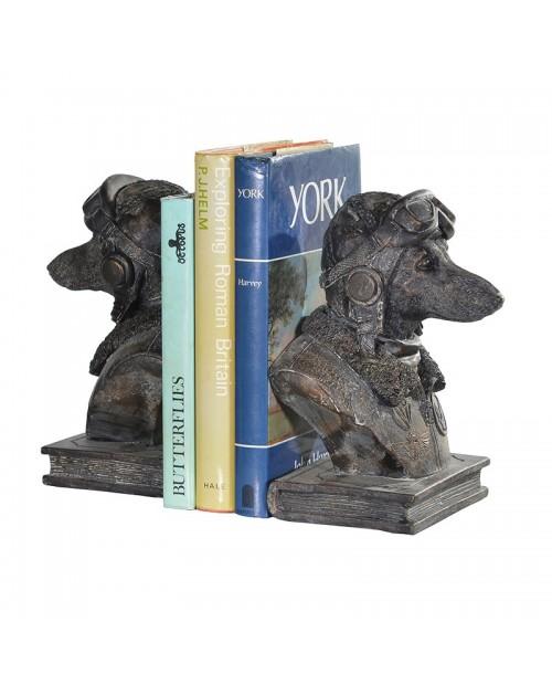 """Knygų laikikliai """"Dog Pilot"""" (2 vnt)"""
