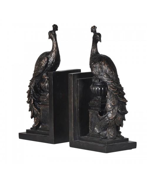 """Knygų laikikliai """"Standing Peacock"""" (2 vnt)"""