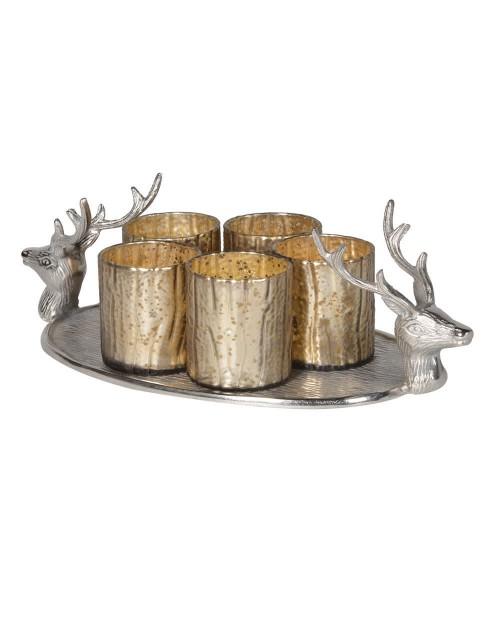 """Padėklas - Žvakidė """"Deer"""""""