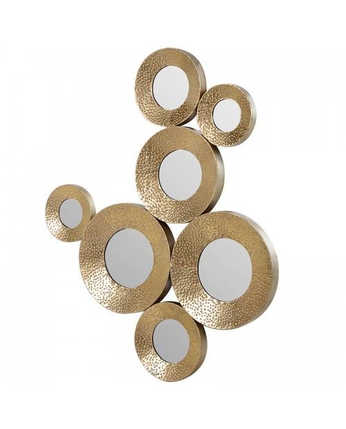 """""""Gold circles"""" veidrodis"""