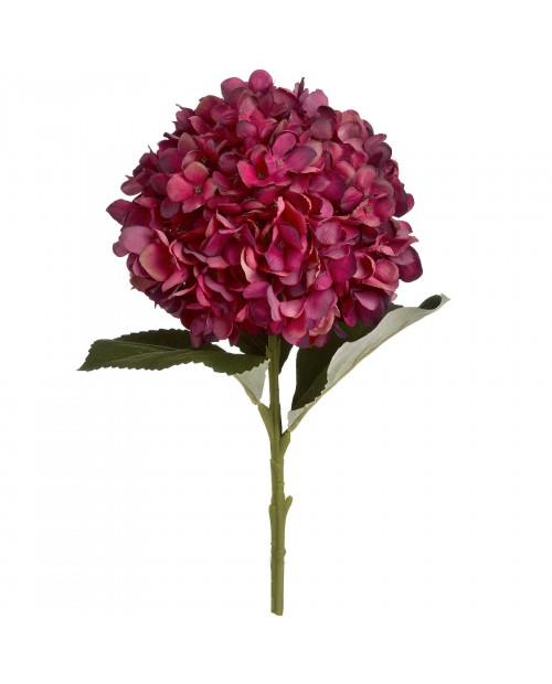"""Dirbtinė gėlė """"Ruby Hydrangea"""""""