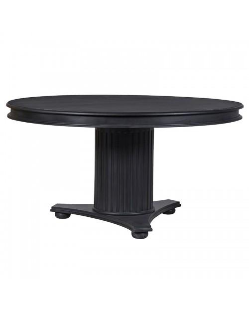 """Apvalus valgomojo stalas """"Kensington Black"""""""