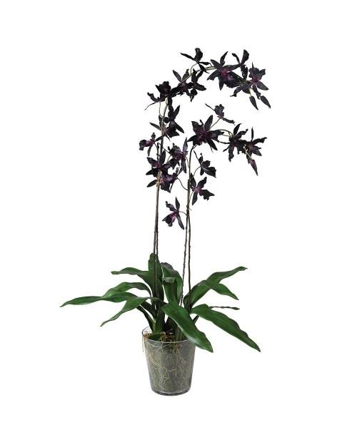 """Dirbtinė gėlė """"Burgundy Oncidium"""""""