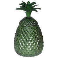 """Stiklinis Indas """"Green Pineapple"""""""