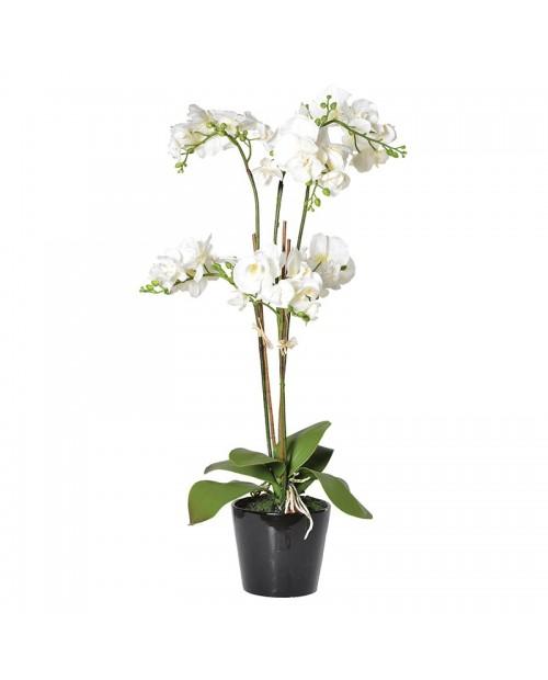 """Didelė dirbtinė gėlė """"White Orchid"""""""