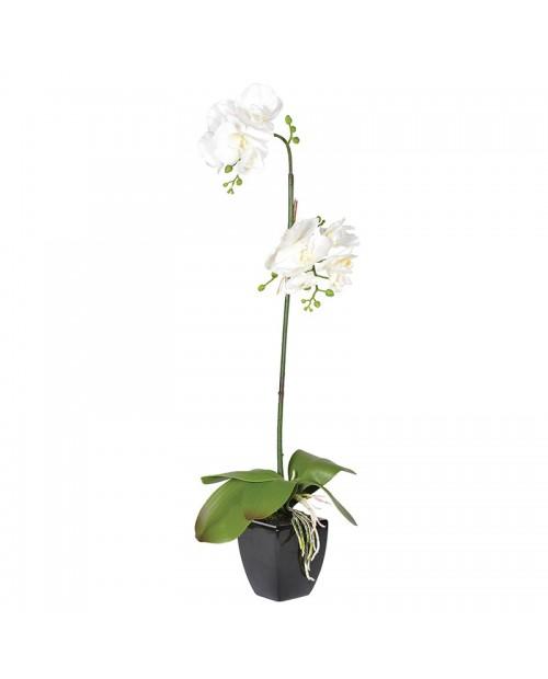"""Dirbtinė gėlė """"White Orchid"""""""