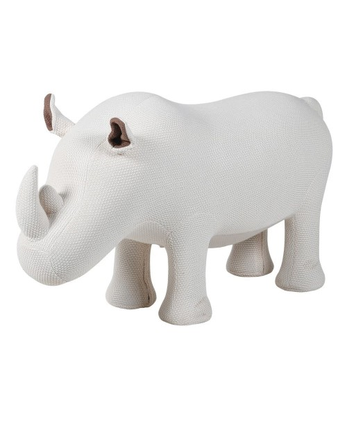 "Minkštasuolis ""Knitted Rhino"""