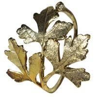 """Servetėlių žiedai """"Leaf"""" (4vnt.)"""