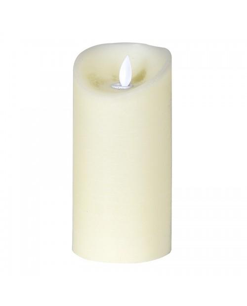 Dramblio kaulo spalvos led žvakė