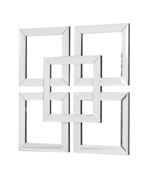 """Sienos dekoracija/veidrodis """"Squares"""""""