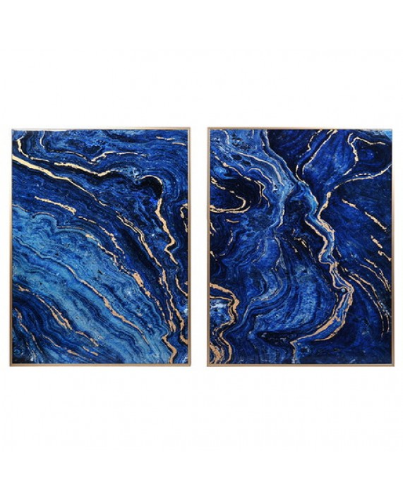 "Paveikslai ""Cobalt Marble"" (2vnt. )"
