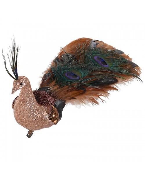 """Dekoracija """"Brown Peacock"""""""