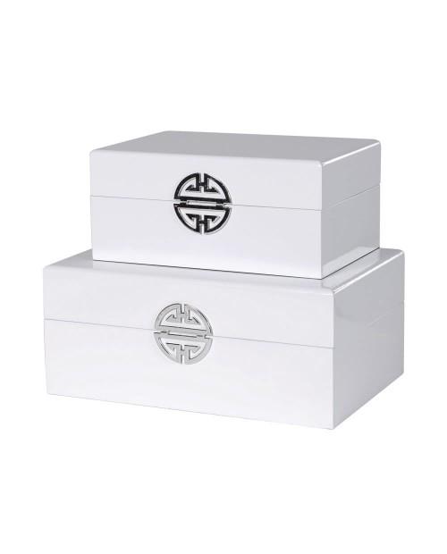 """Dėžučių komplektas """"White"""""""