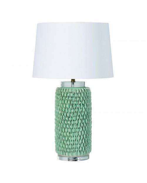 """Keramikinė stalinė lempa """"Aqua Green"""""""