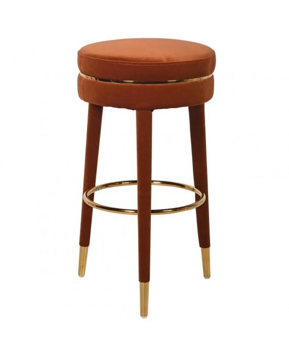 """Baro Kėdė """"Rust Velvet"""""""