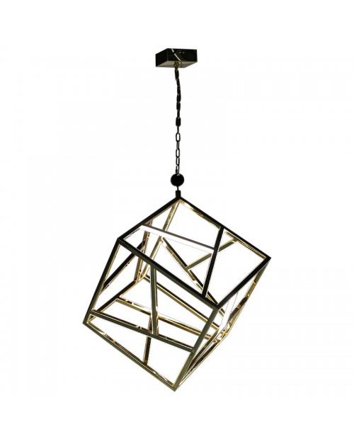 "LED šviestuvas ""Gold Cube"""
