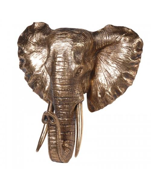 "Sienos dekoracija ""GOLDEN ELEPHANT"""
