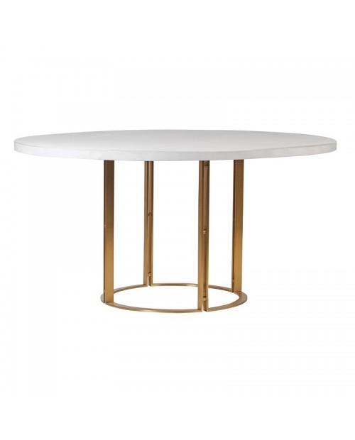 """Pietų stalas """"White Concrete"""""""