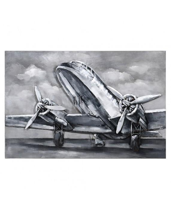 """Metalinis paveikslas """"Plane"""""""