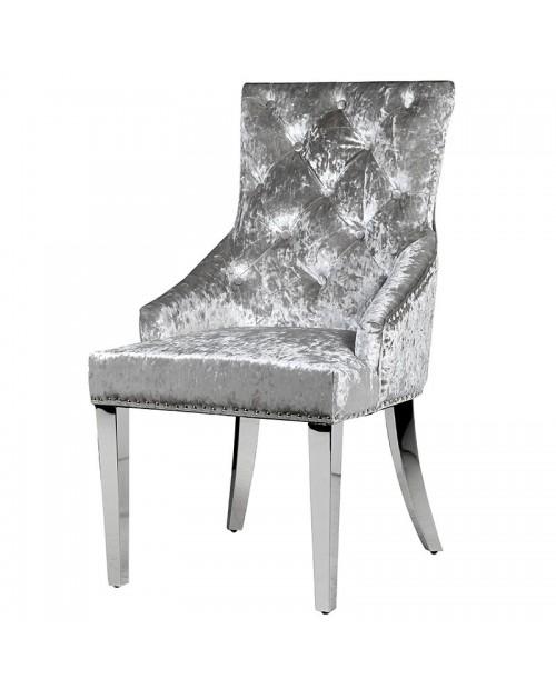 "Kėdė ""Velvet"" (pilka)"