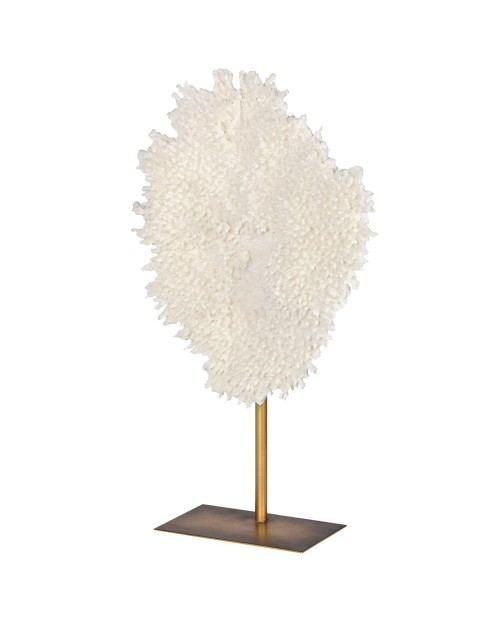 "Interjero dekoracija ""Faux Coral/White"" (maža)"