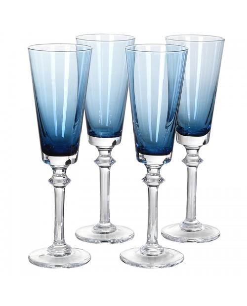 "Šampano taurės ""Blue"" (4vnt.)"