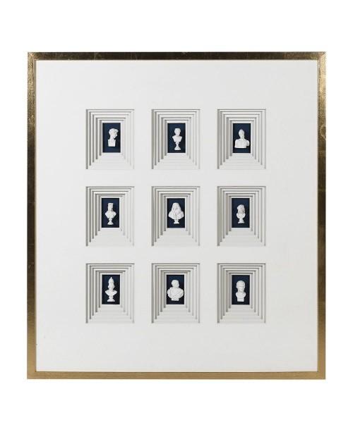 "Sienos dekoracija/paveikslas ""Miniature"""