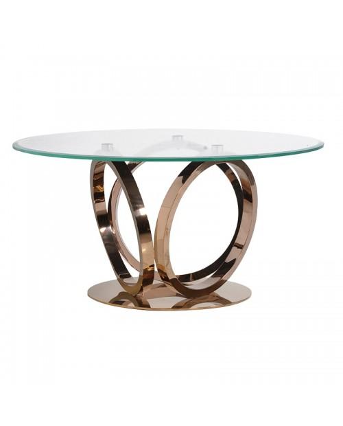 """Apvalus pietų stalas """"Luxe"""""""