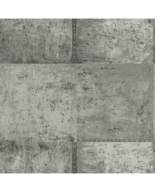 Patina Silver/Charcoal tapetai