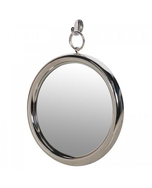Apvalus nikeliuotas veidrodis