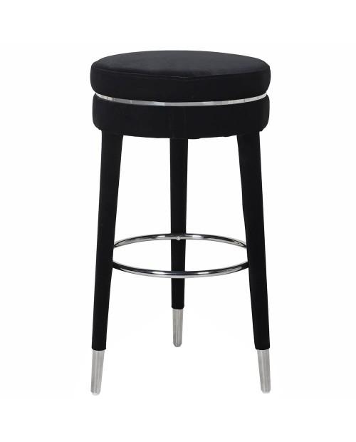 "Baro kėdė ""Julios Black Velvet"""