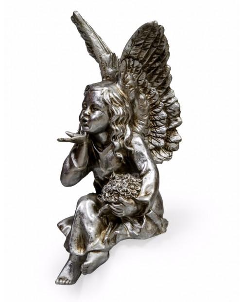 """Angelas """"Linkėjimai"""" (sidabro spalva)"""