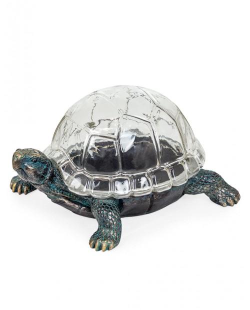 """Bronzos spalvos interjero aksesuaras/dėžutė """"Tortoise"""""""