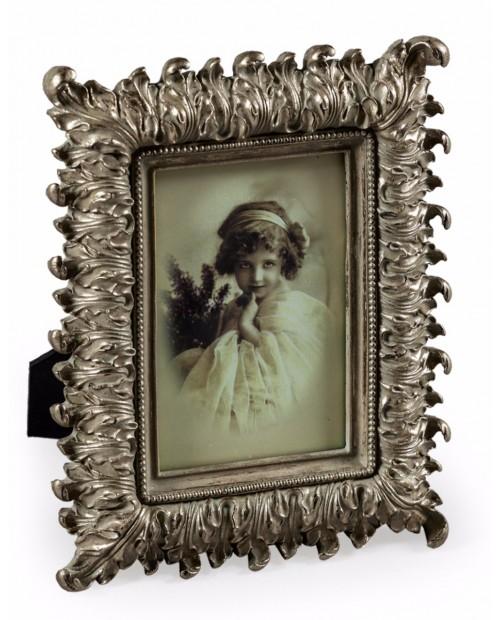 """Antikvarinio stiliaus sidabro spalvos foto rėmelis """"Silver Fern"""""""